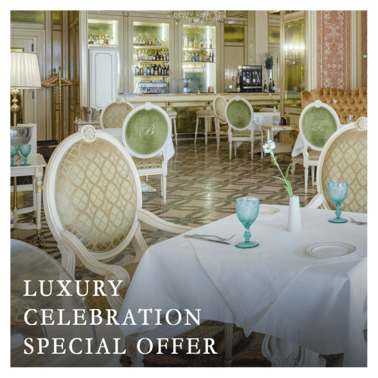 Luxury celebration. Special offer